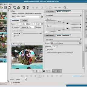 Kino is listed (or ranked) 27 on the list List of Video Editing Software