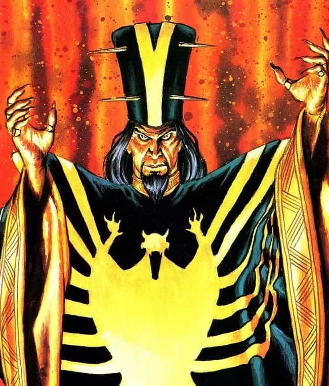 Mandarin is listed (or ranked) 3 on the list The 16 Most Politically Incorrect Comic Book Characters Ever