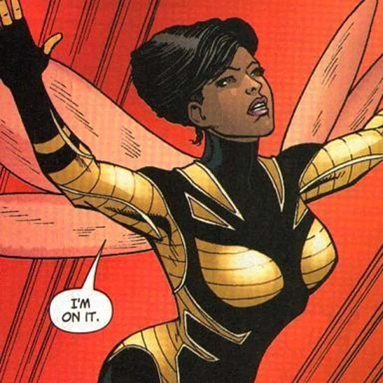 Bumblebee is listed (or ranked) 3 on the list Greatest Black Female Superheroes