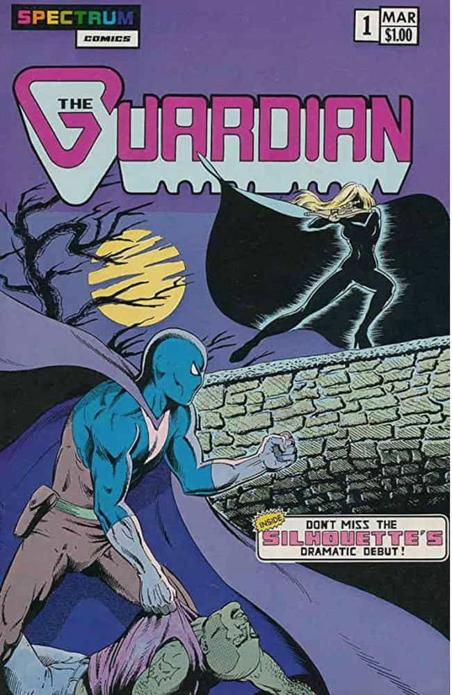 Guardian is listed (or ranked) 4 on the list 18 Comic Book Characters From Canada