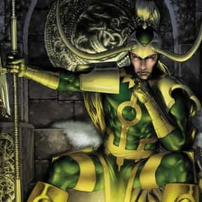 Loki is listed (or ranked) 10 on the list The Best Comic Book Characters Created by Stan Lee