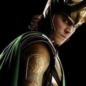 Loki is listed (or ranked) 8 on the list The Greatest Movie Villains Of All Time
