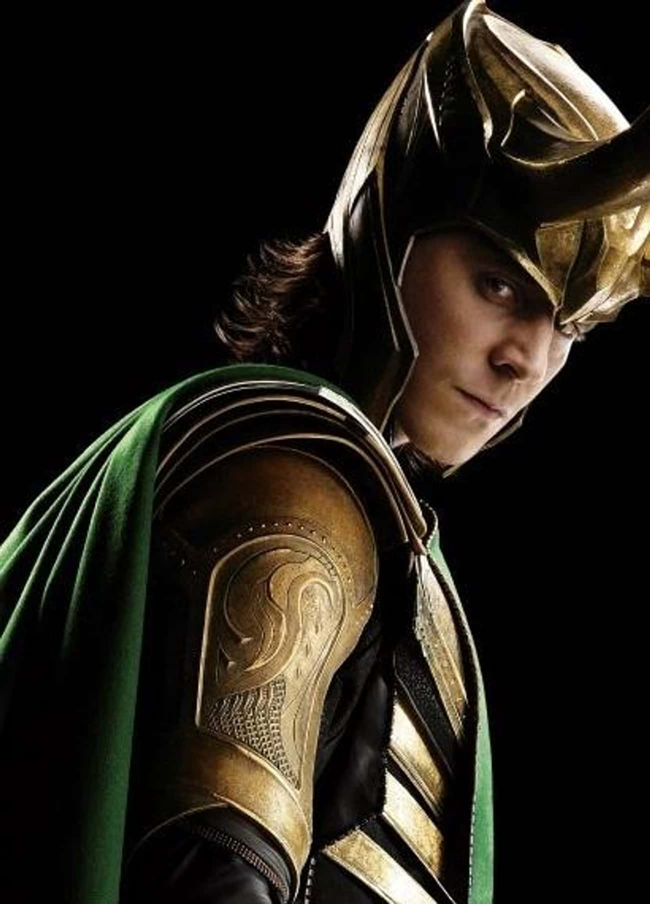 Loki is listed (or ranked) 4 on the list The Greatest Immortal Characters in Fiction
