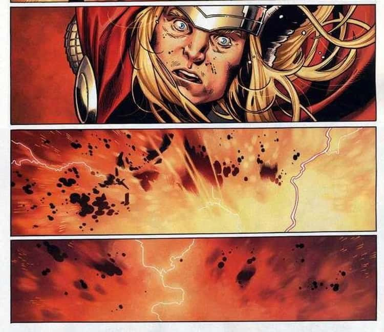 Loki Sacrifices Himself To Save His Brother And All Of Asgard