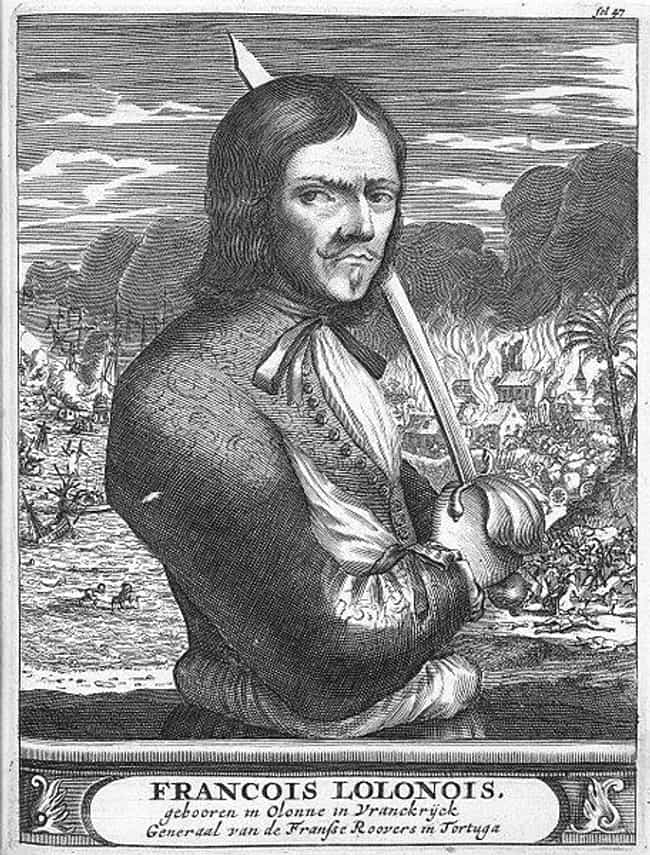 François l'Olonna... is listed (or ranked) 1 on the list 15 Excessively Violent Pirates Who Rained Death On Their Victims