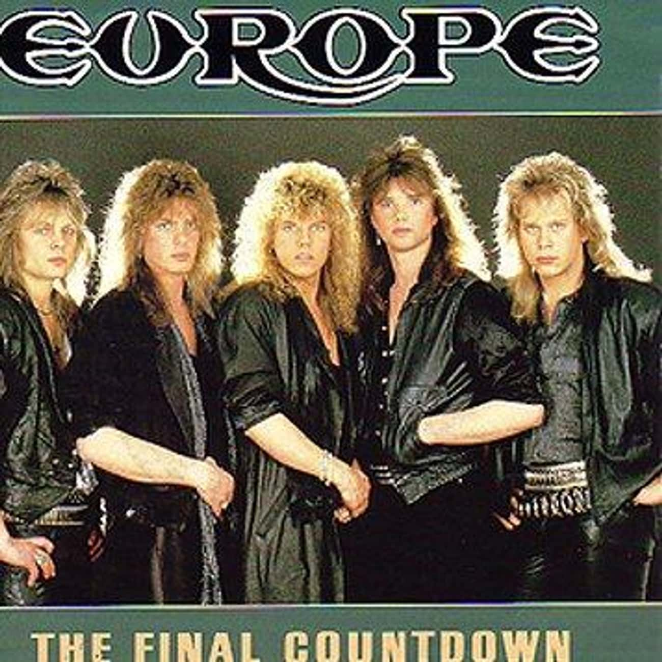 The Final Countdown is listed (or ranked) 3 on the list The Best Europe Albums of All Time