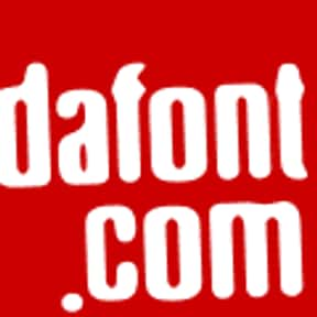 Dafont is listed (or ranked) 18 on the list The Top Online Art Communities