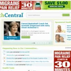 HealthCentral.com is listed (or ranked) 4 on the list The Best Medical News Sites