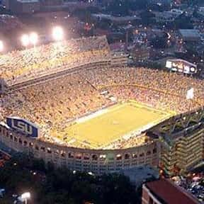 Tiger Stadium is listed (or ranked) 2 on the list The Best College Football Stadiums