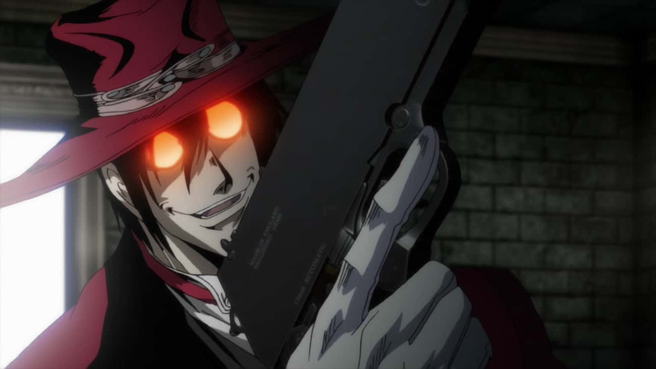 Alucard - 'Hellsing' is listed (or ranked) 3 on the list The 15 Most Feared Anime Characters of All Time, Ranked