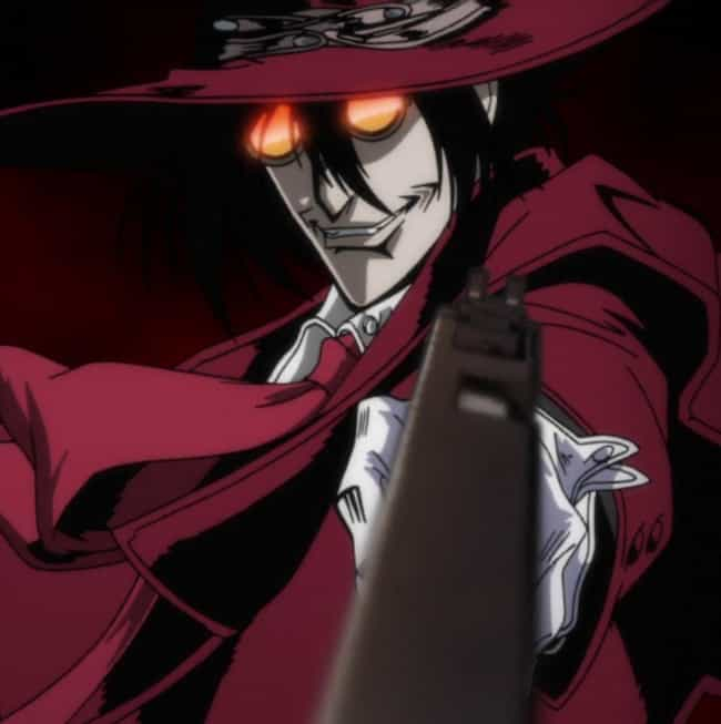 Alucard is listed (or ranked) 2 on the list 14 Anime Characters With Insanely High Kill Counts