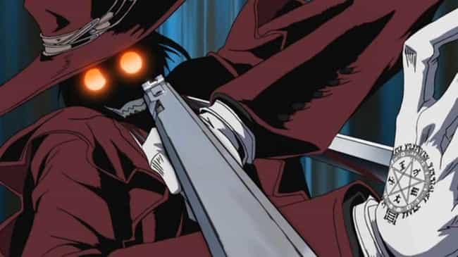 Alucard is listed (or ranked) 4 on the list The 15 Most Badass Anime Protagonists of All Time