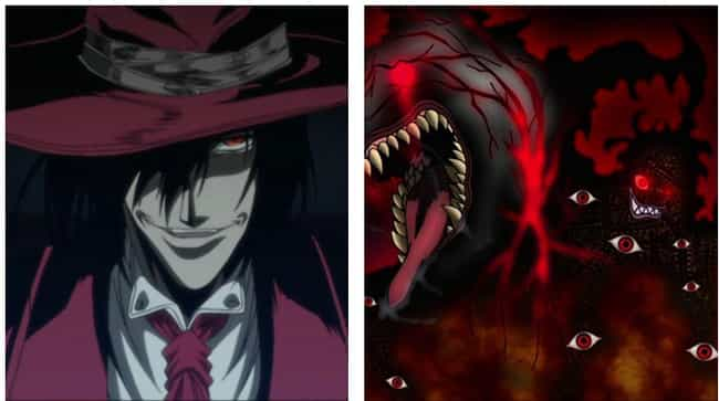 Alucard is listed (or ranked) 4 on the list The 16 Most Extreme Transformations In Anime History