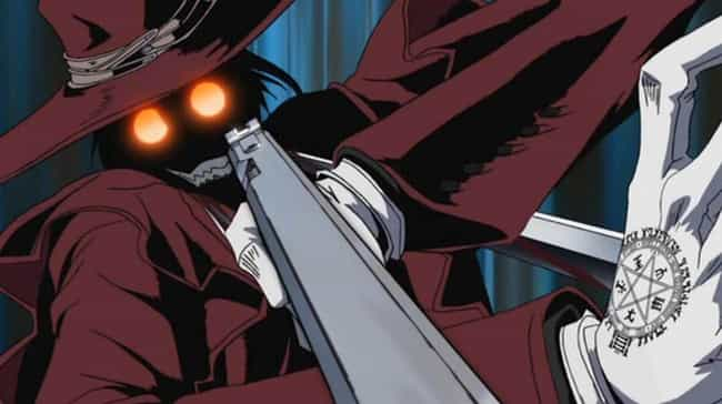 Alucard Is Listed Or Ranked 2 On The List Most Pointlessly Overpowered Anime