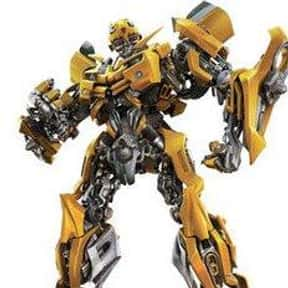 Bumblebee is listed (or ranked) 10 on the list The Greatest Robots of All Time