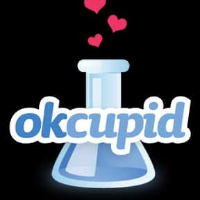OkCupid is listed (or ranked) 1 on the list The Best Dating Websites
