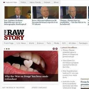 The Raw Story is listed (or ranked) 19 on the list The Best Liberal Blogs Online