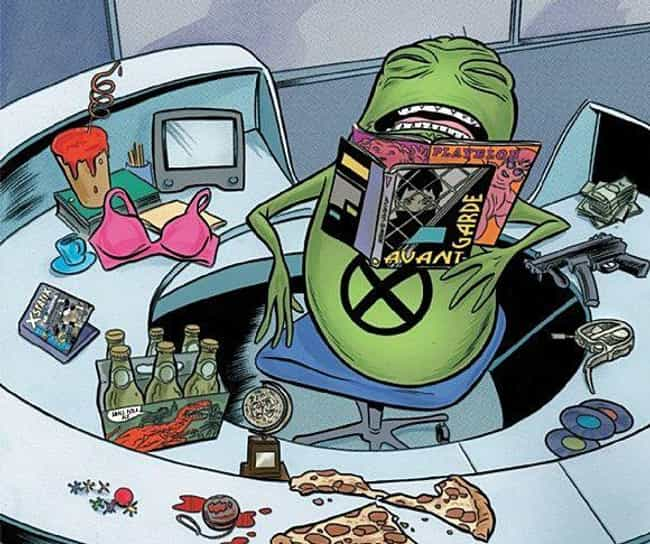 Doop is listed (or ranked) 8 on the list Strange Comic Book Characters Even The Marvel Cinematic Universe Couldn't Sell To Audiences