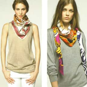 Hermès is listed (or ranked) 2 on the list The Best Scarf Brands