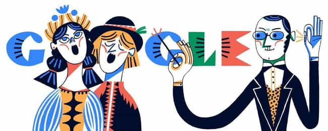 Stanisław Moniuszko is listed (or ranked) 1164 on the list Every Person Who Has Been Immortalized in a Google Doodle