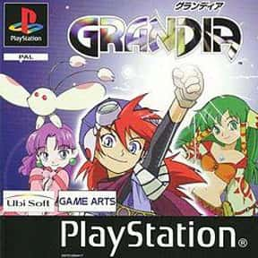 Grandia is listed (or ranked) 23 on the list The Best Playstation 1 (PS1,PSX,PSOne) RPG