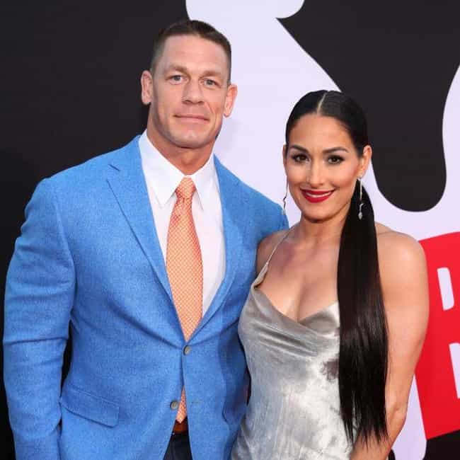 Nikki Bella is listed (or ranked) 2 on the list John Cena Loves and Hookups