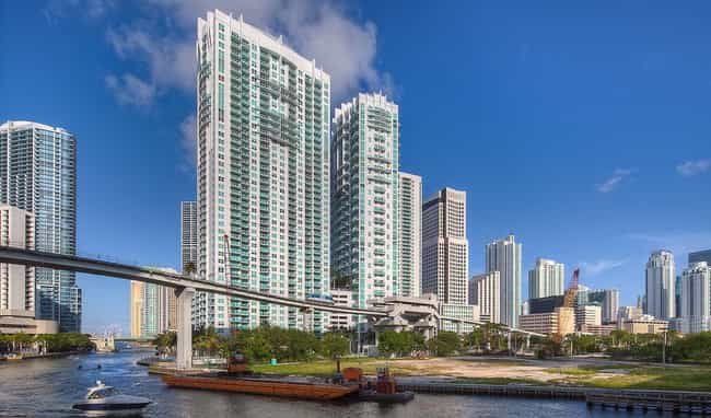 1080 Brickell is listed (or ranked) 1 on the list List of Famous Miami Buildings & Structures
