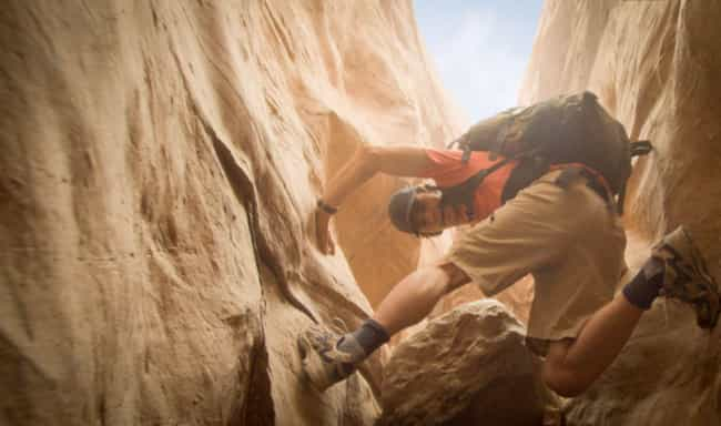 127 Hours is listed (or ranked) 3 on the list 15 Movies That Made Audiences Puke, Pass Out, Leave the Theater, or Pass Away