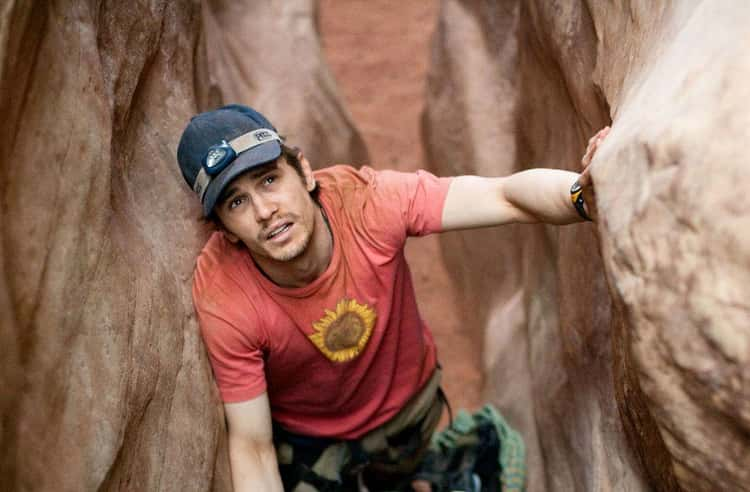 Aron Ralston Removes His Arm In '127 Hours'