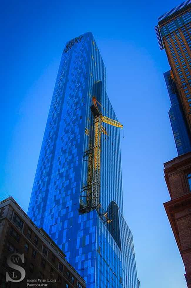 One57 is listed (or ranked) 6 on the list The Top 25 Tallest Buildings in New York