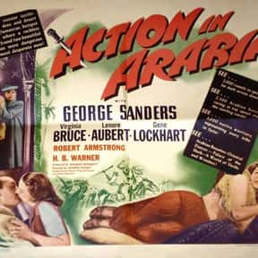 Action in Arabia is listed (or ranked) 15 on the list List of All Movies Released in 1944