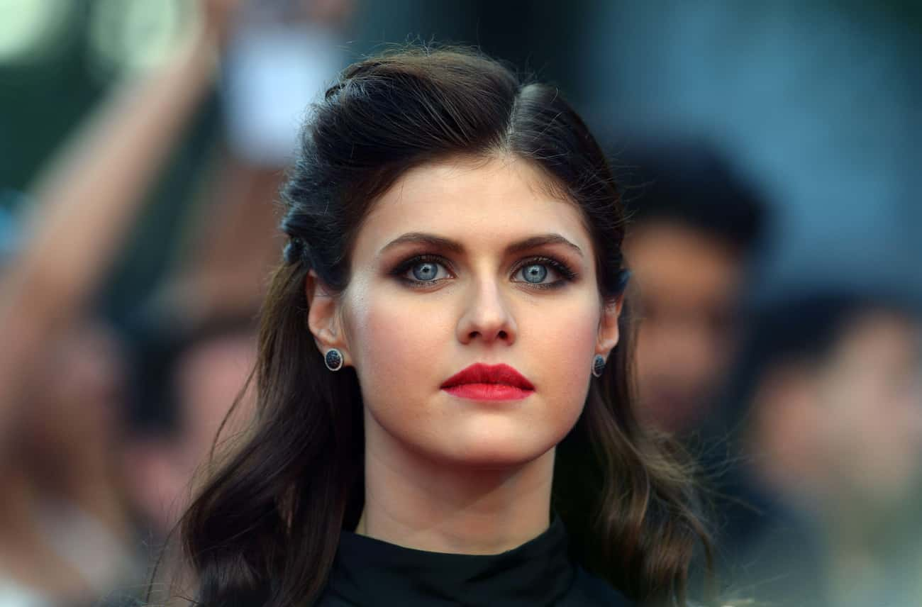 Alexandra Daddario is listed (or ranked) 1 on the list The Most Captivating Celebrity Eyes (Women)