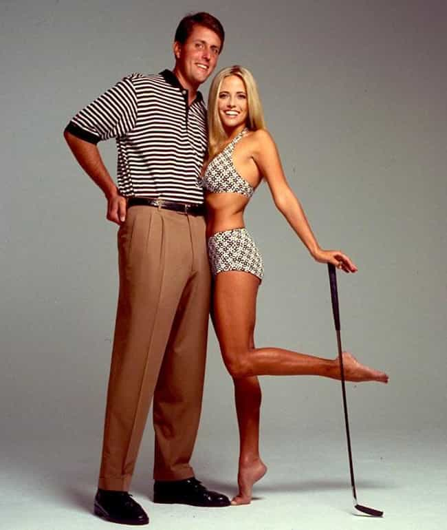 Amy Mickelson is listed (or ranked) 3 on the list The Hottest Golfer Wives and Girlfriends