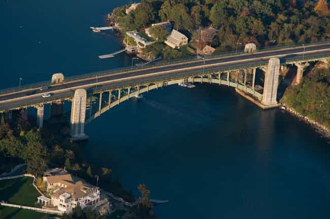 Annisquam Bridge is listed (or ranked) 1 on the list Bridges in Massachusetts