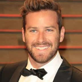 Armie Hammer is listed (or ranked) 20 on the list Celebrity Men You Think You Might Have A Shot With