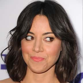 Aubrey Plaza is listed (or ranked) 6 on the list Who Was America's Girlfriend in 2015?