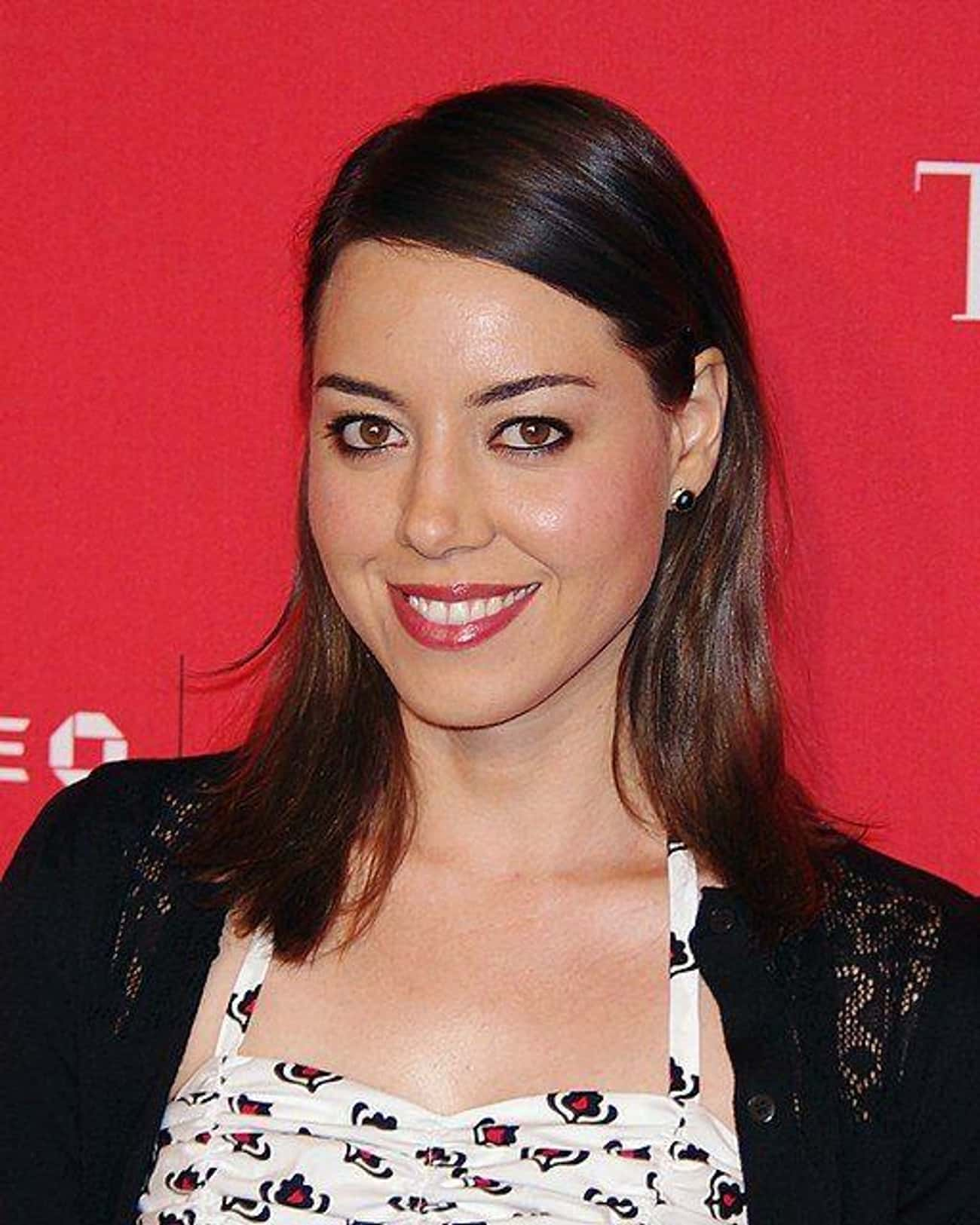Aubrey Plaza is listed (or ranked) 4 on the list 27 Famous People Who Have One Latino Parent