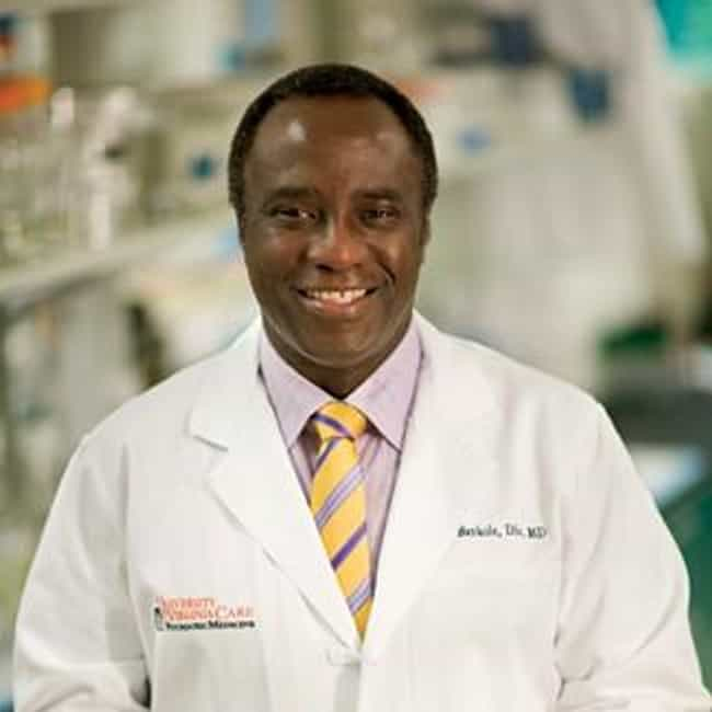 Bankole Johnson is listed (or ranked) 3 on the list Famous Physicians from Nigeria