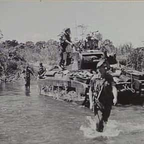 Battle of the Hongorai River is listed (or ranked) 13 on the list World War II Battles Involving the Australia
