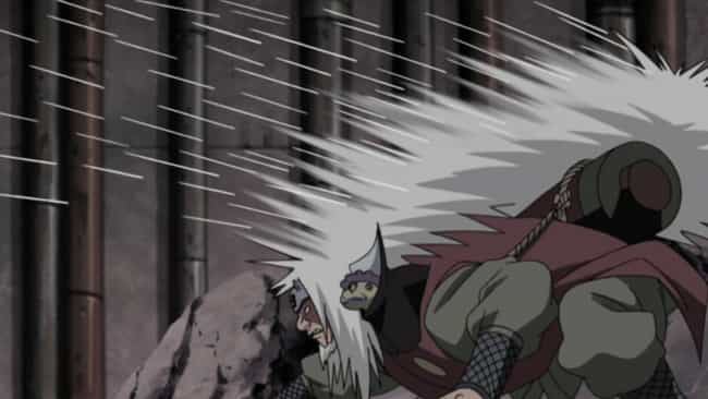 Jiraiya is listed (or ranked) 3 on the list The 15 Best Anime Characters That Fight With Needles