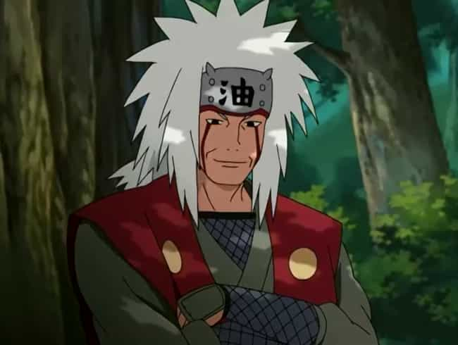 Jiraiya is listed (or ranked) 3 on the list 15 Anime Drifters Who Wander From Town to Town