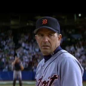 Billy Chapel is listed (or ranked) 12 on the list The Greatest Baseball Player Characters in Film
