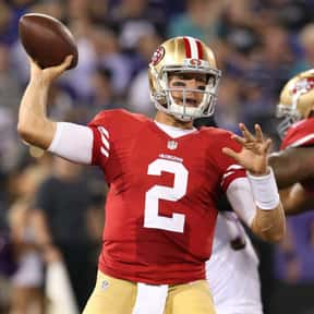 Blaine Gabbert is listed (or ranked) 25 on the list The Best San Francisco 49ers Quarterbacks of All Time