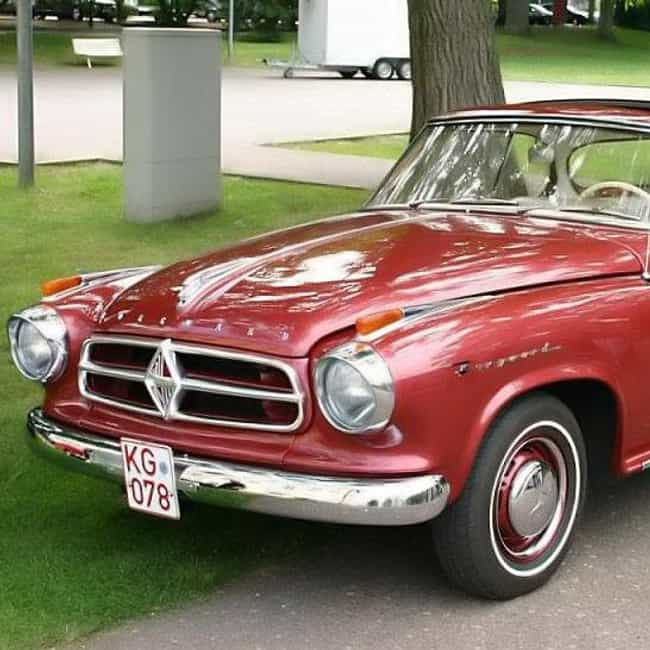 Borgward Isabella is listed (or ranked) 4 on the list Full List of Borgward Models
