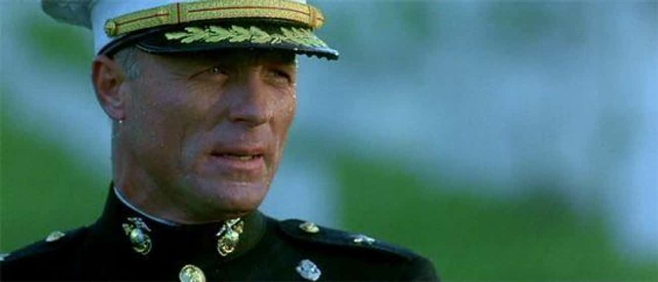 Brigadier General Francis X. H is listed (or ranked) 4 on the list 29 Movie Villains Who Were Probably Right All Along