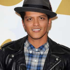 Bruno Mars is listed (or ranked) 25 on the list The Greatest Singers of the Past 30 Years