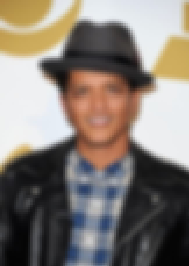 Bruno Mars is listed (or ranked) 4 on the list Grammy Award for Best Male Pop Vocal Performance Winners List