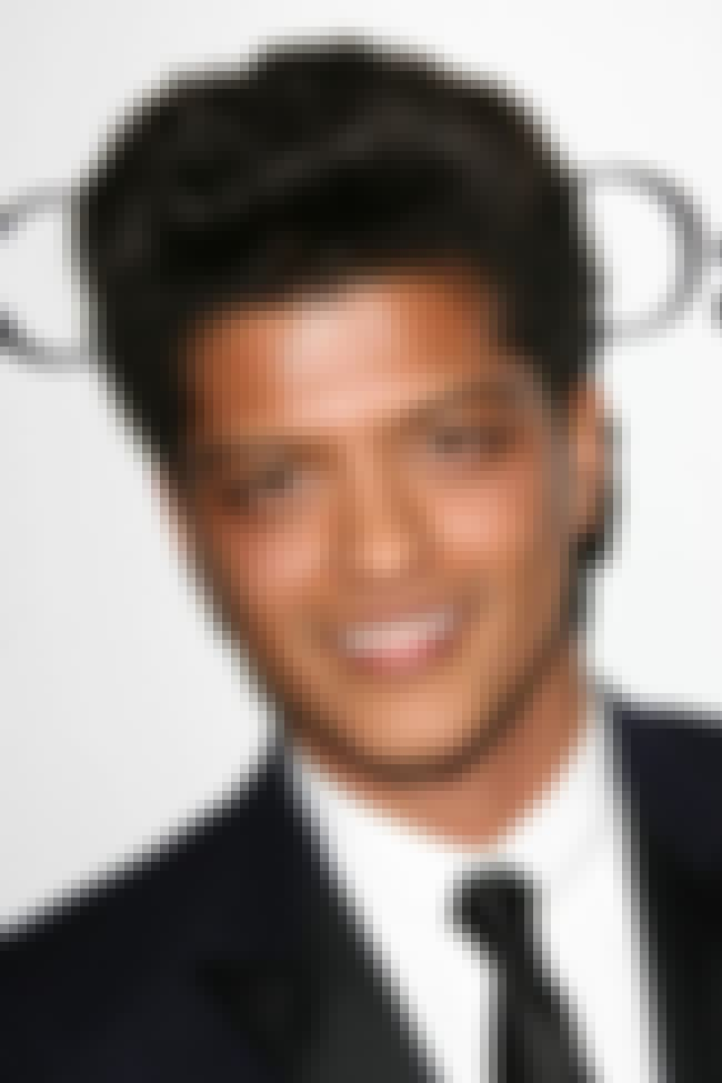 Bruno Mars is listed (or ranked) 3 on the list Celebrity Men Who Are Even Shorter Than You Already Thought