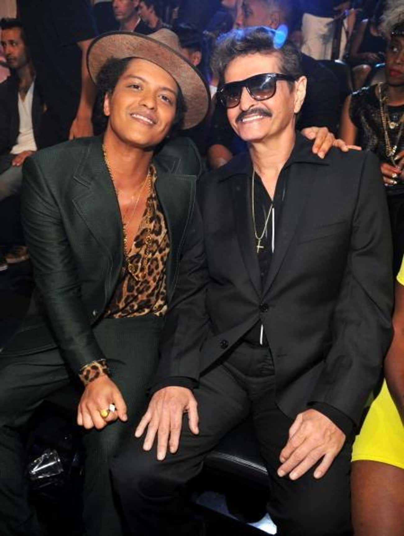 Bruno Mars is listed (or ranked) 2 on the list 27 Famous People Who Have One Latino Parent