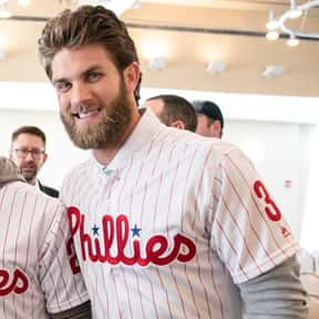 Bryce Harper is listed (or ranked) 1 on the list College & Professional Athletes Who Were Raised Mormon